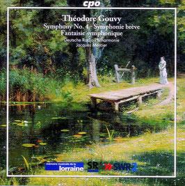Symphony No. 4, Symphonie brève, Fantaisie symphonique - Théodore Gouvy
