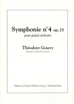 Symphonie 4 opus 25 pour grand orchestre (EN LOCATION) - Théodore Gouvy