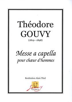 Messe a capella pour choeur d'hommes - Théodore Gouvy