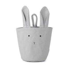 """Liewood Körbchen """"Ib fabric basket"""" Hase grau"""
