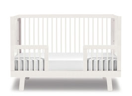 Oeuf Sparrow Umbauset zum Kindbett 70 x 140 cm Weiss
