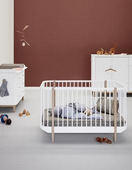Oliver Furniture Wood Cot Baby- und Kinderbett 70x 140