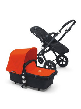 Bugaboo Cameleon3 Komplett-Set schwarz/orange
