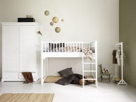 Oliver Furniture Seaside halbhohes Junior Hochbett 90x 160 cm