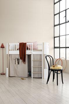 Oliver Furniture Wood Mini+ Halbhohes Hochbett, Eiche