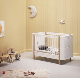 Oliver Furniture Wood Mini+ (mitwachsendes Babybett und Kinderbett, 0-9 Jahre)
