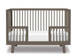 Oeuf Sparrow Umbauset zum Kindbett 70 x 140 cm Grau