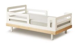 Oeuf Classic Kinderbett 70 x 140 cm Birke/ Weiss