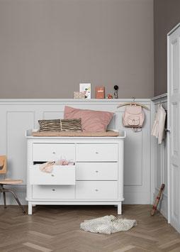 Oliver Furniture Wood Wickelkommode Wickelplatte groß NEU