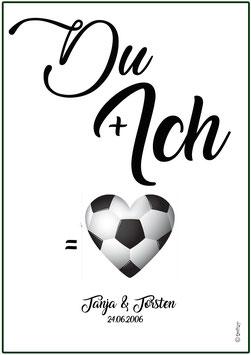 Du und Ich = Fussballliebe