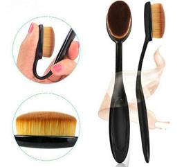 Oval Make Up Pinsel