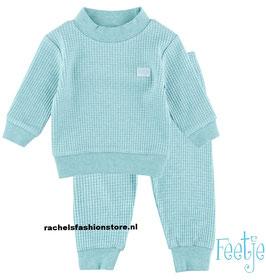 "Feetje baby-Pyjama ""305533"" green melange"
