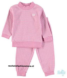 """Feetje baby-pyama """" 305533"""" pink melange"""