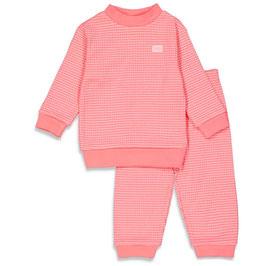 Feetje wafel-pyjama pink summer special