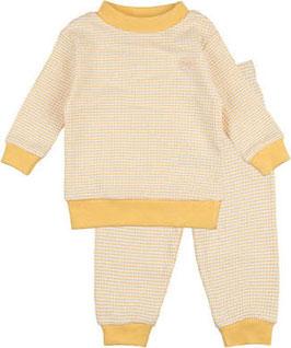 """Feetje wafel-pyjama """" 305532 """" Yellow Ochre"""