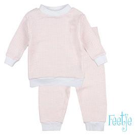 """Feetje wafel-pyjama """"305532 """" zalm"""