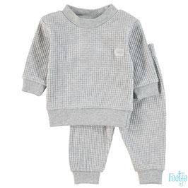 "Feetje wafel-pyjama ""305533 "" Grey melange"