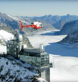 Jungfrauregion Rundflug