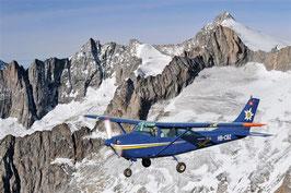 60 Min. Flugzeug Rundflug Jungfraujoch