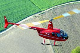 Helikopter selber fliegen Robinson R44 Cadet