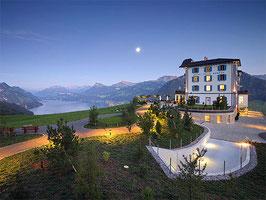 Romantikflug und 1 Übernachtung in der Villa Honegg