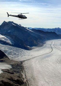 Rundflug mit Gletscherlandung*