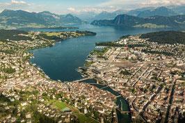 20 Min. Stadt Rundflug Luzern