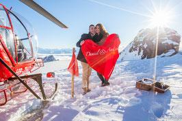 Romantikflug Gletscher ab Lauterbrunnen mit Übernachtung Grand Hotel Spa VICTORIA-JUNGFRAU