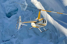 50 Min. Alpenrundflug inkl. Gletscherlandung