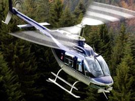 Helikopter selber fliegen Bell 505