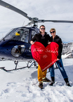 Romantik Package mit Helikopterflug