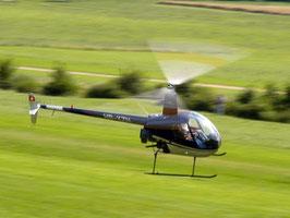Helikopter selber fliegen R22