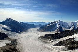 105 Min. Jungfraujoch Rundflug