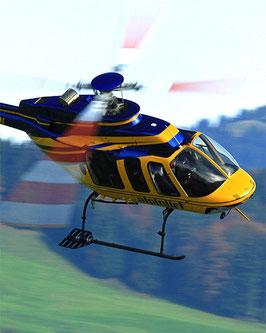 Rundflug mit dem Helikopter