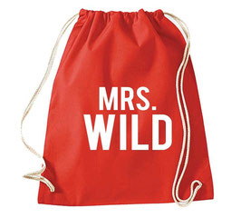"TURNBEUTEL ""MRS. WILD"""