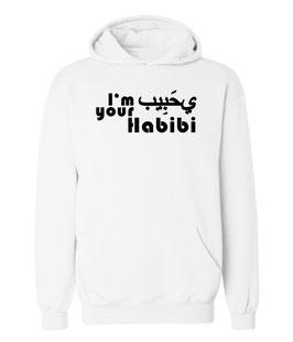 "Kapuzenpullover ""I'm your Habibi"" für Damen"