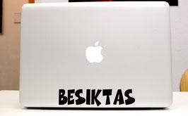 """Laptop Aufkleber """"Vereine"""" in Schriftzug"""