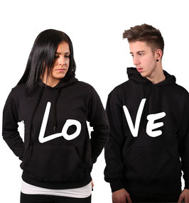 "2 x HOODIES ""LO-VE"""