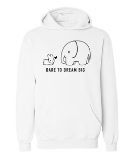 "Kapuzenpullover ""Dare to Dream Big"" für Damen"
