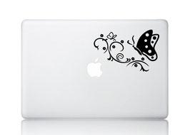 "Laptop Aufkleber ""Schmetterling"""