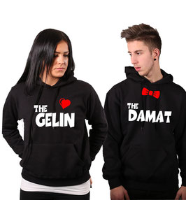 "2 x Kapuzenpullover ""The Gelin & The Damat"""