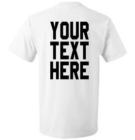"""Kinder T-Shirt mit """"Wunschtext"""""""