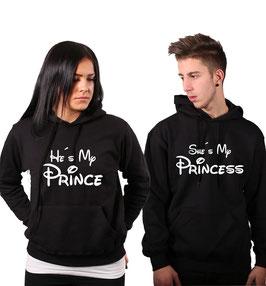"2 x Kapuzenpullover ""My Prince(ess)"""