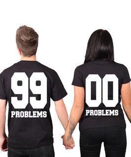 "2 x T-Shirt ""99 Problems"""
