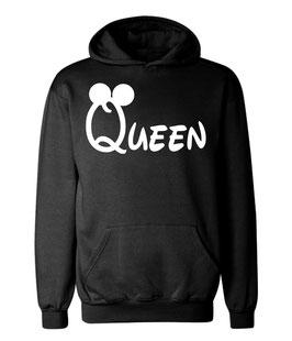 """Kapuzenpullover """"Queen""""oo für Damen"""