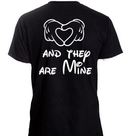 "Kinder T-Shirt mit ""They are Mine"""