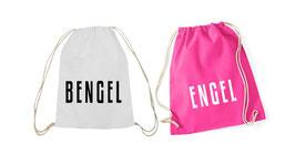 """Hipster Beutel mit """"Bengel&Engel"""""""