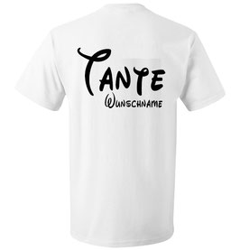 """T-SHIRT """"WUNSCHNAME"""""""