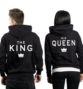 "2 x Hoodies ""The King & His Queen"""