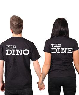 "2 x T-Shirt ""Dino & Dine"""